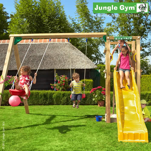 Jungle Tower + 2-Swing Module
